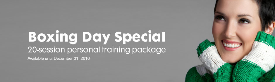 Boxing Day Special - 20-session Personal Training Package